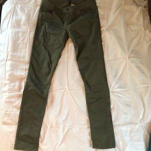 Hunter green pants